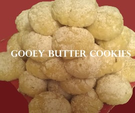 How to Bake Gooey Butter Cookies