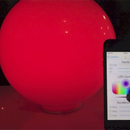 Smartphone controlled mood light