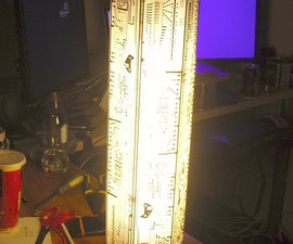 Tall CFL Bulb for a Tall Lamp