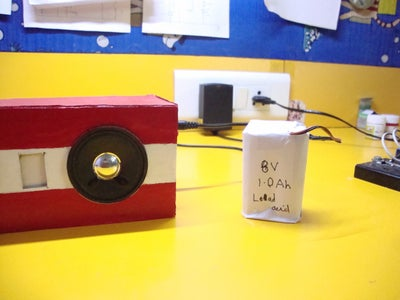 Powering and Using the Speaker