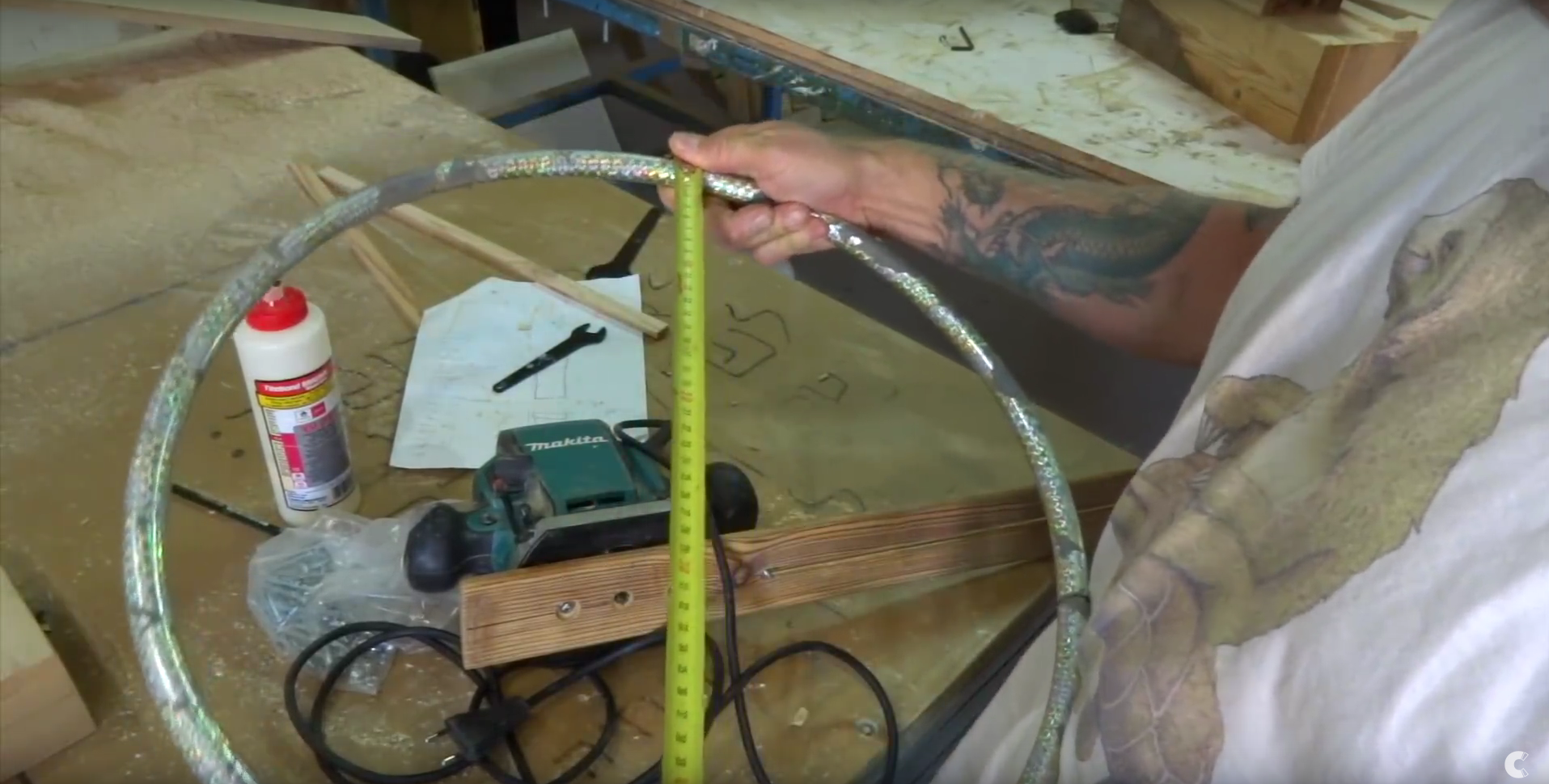 Picture of Set Your Circle Router Jig