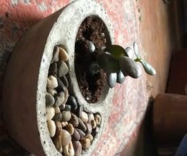 Self-watering Concrete Planter