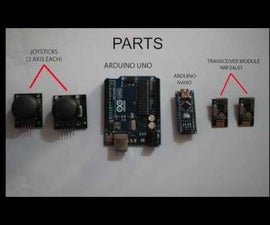 Wireless Communication Using NRF24L01 Transceiver Module for Arduino Based Projects