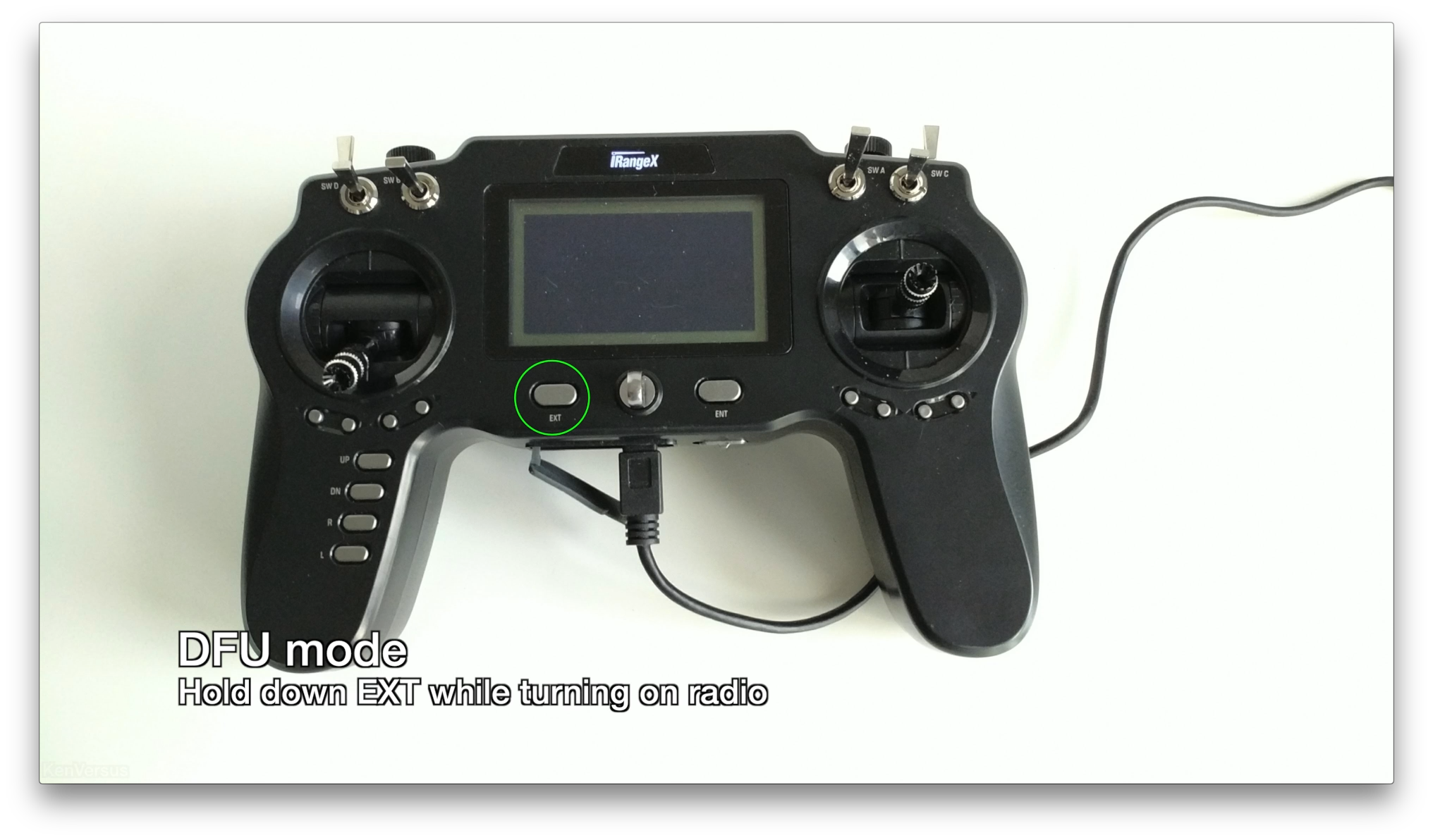 Picture of DFU Mode