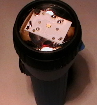 Picture of Convert EVEL 152S Flashlight From Spot to Flood Light
