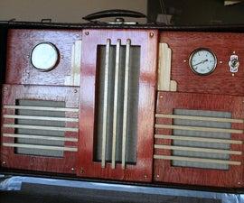 Swingin' Vintage Suitcase Stereo
