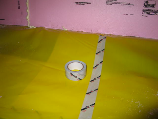 Picture of Vapor Barrier Dirt Floored Crawl Spaces