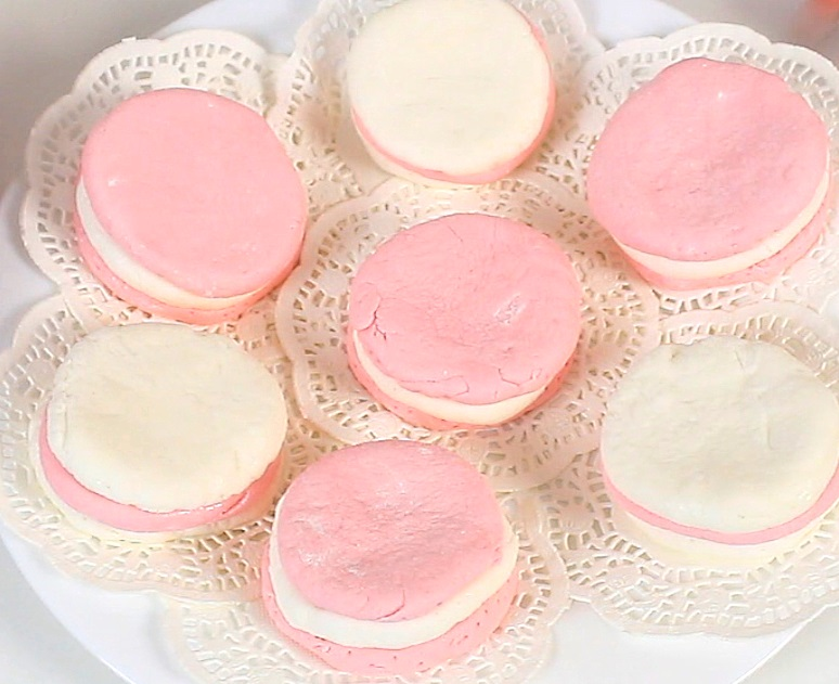 Picture of I Hope You Enjoyed Idea Diy Macarons From Marshmallows | Making Edible Play Dough!!!