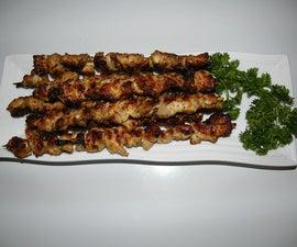 Devilled Chicken (Spicy Chicken Satay)
