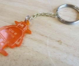 Make an Instructables Robot Keychain!