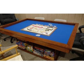 Make Your Own Gaming Table With Built-in Game Storage