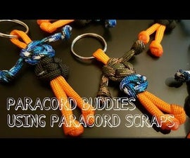 Paracord Buddies- A great way to use your scraps. (Video)