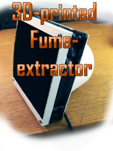 3D-printed Fumeextractor