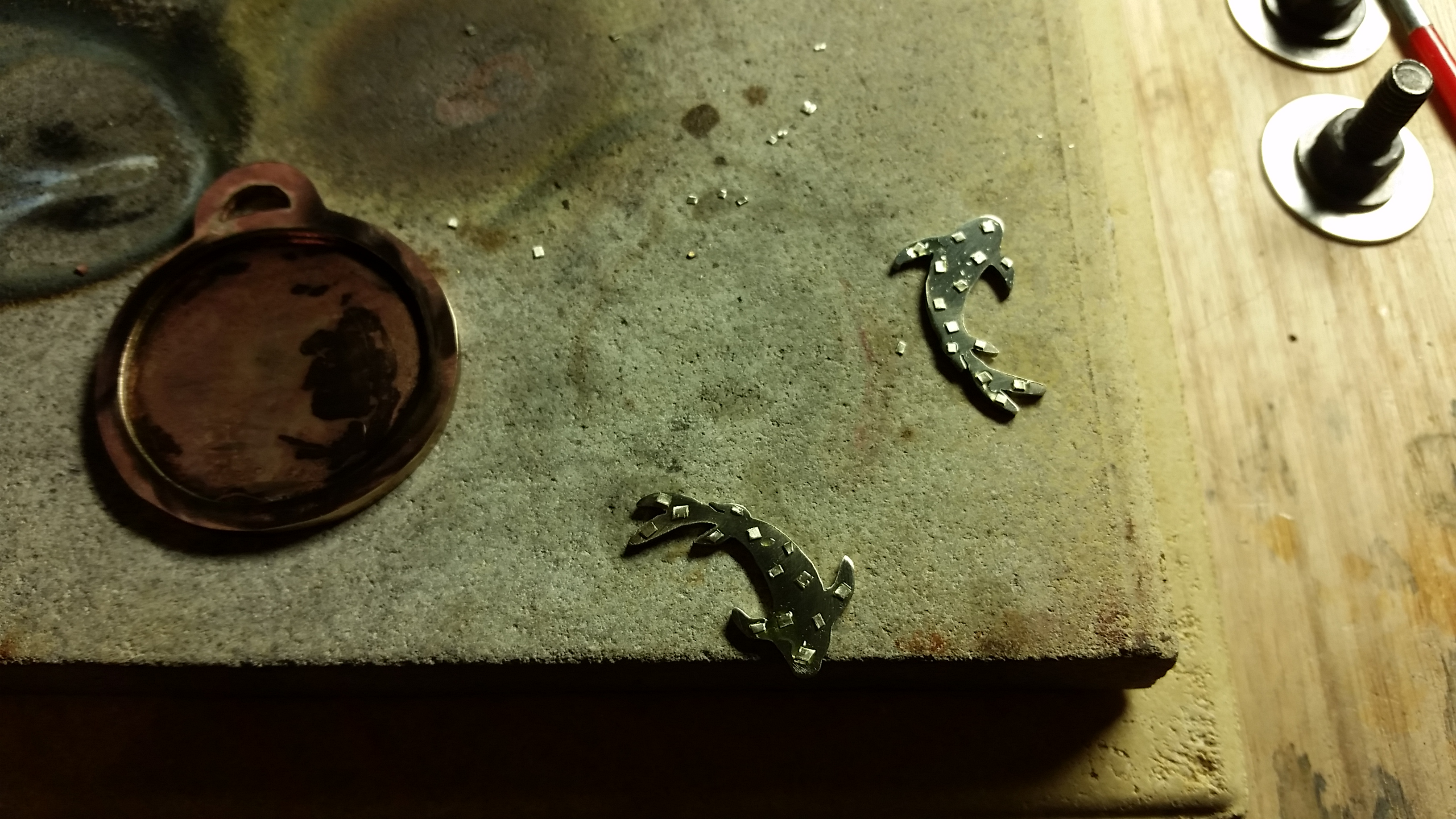 Picture of Soldering the Koi