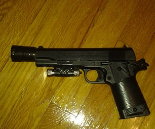 Tactical Airsoft Pistol