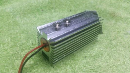 Mount the Laser Module in the Heatsink and Set Focus-