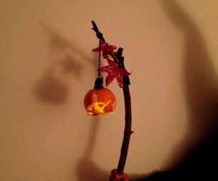 Wicked Witch Pumpkin Lantern Staff