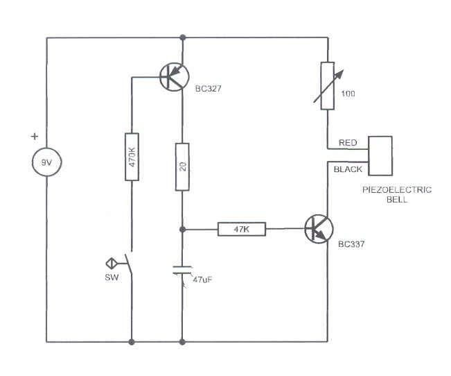 Earthquake Detector Circuit Diagram | Diy Earthquake Sensor