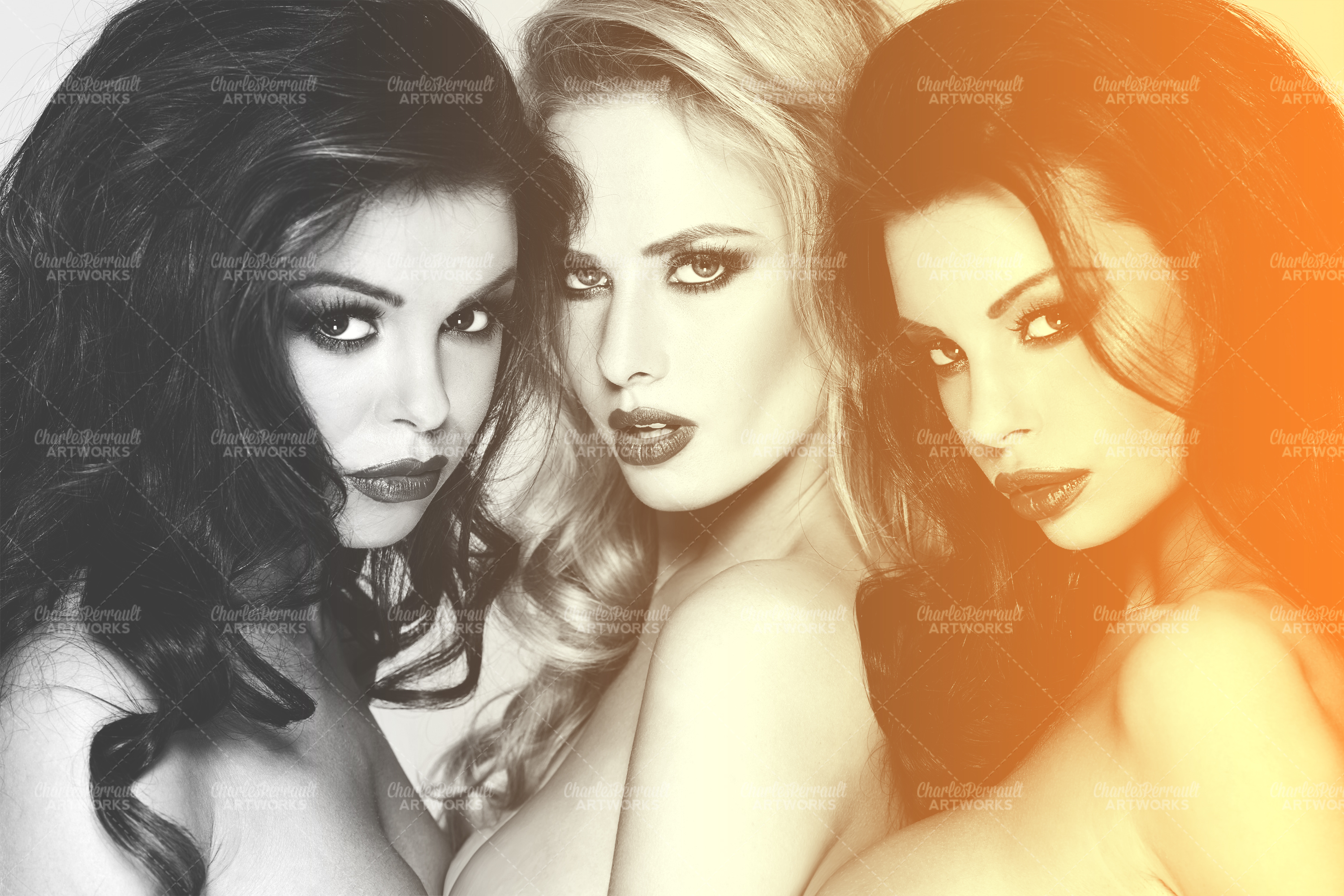 Picture of Sensual Black N White Photo Effect
