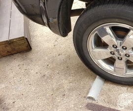 Easy Parking Space Stopper