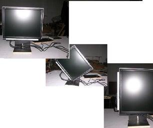 Rotate or Pivot Lcd Monitor