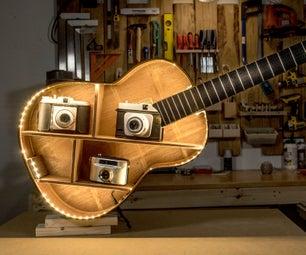 How to Make an Acoustic Guitar Shelf
