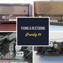 Fixing and Restoring an Old Radio. Grundig 96