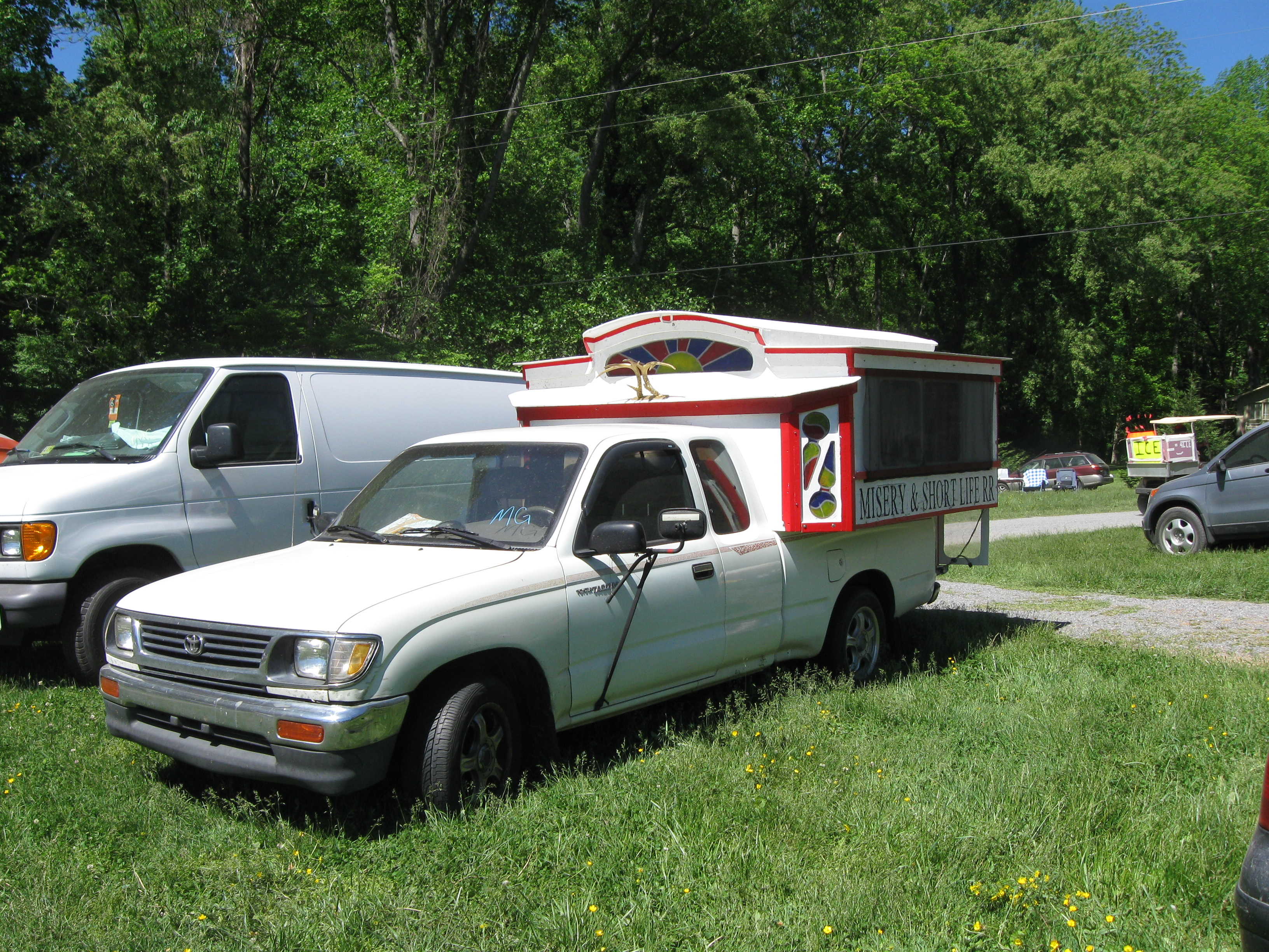 Picture of Plywood Shack Pickup Camper