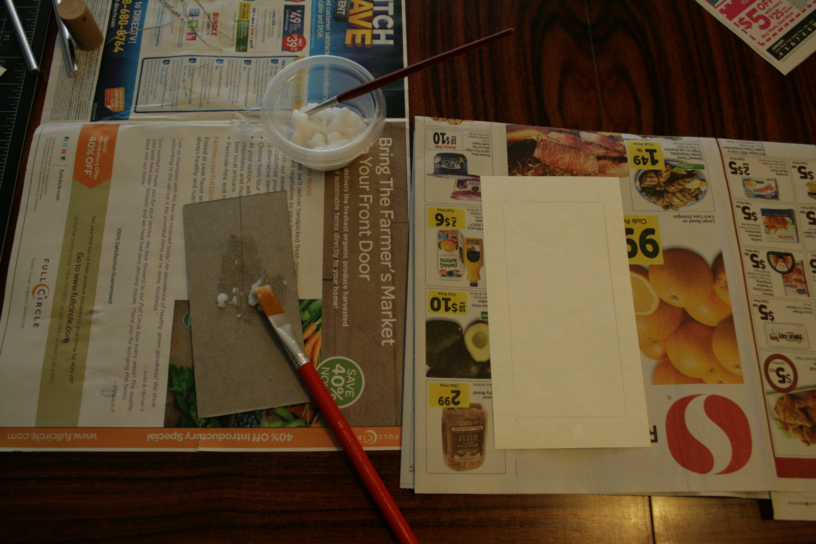 Picture of Step 10: Begin Wrapping Your Book Covers