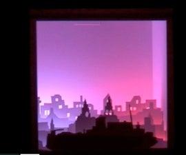 Skyline RGB LED Lamp