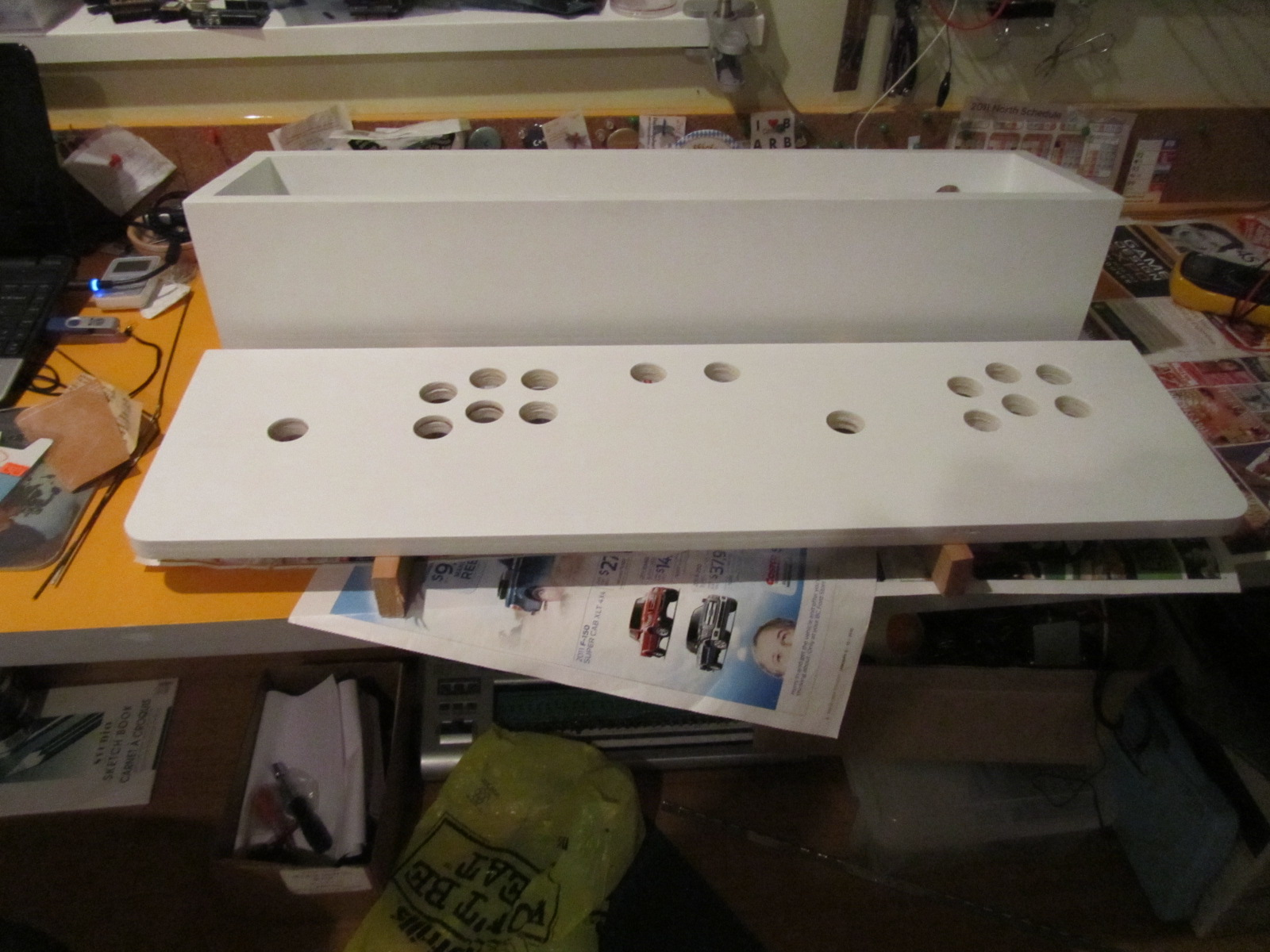 Picture of Build the Control Panel Box
