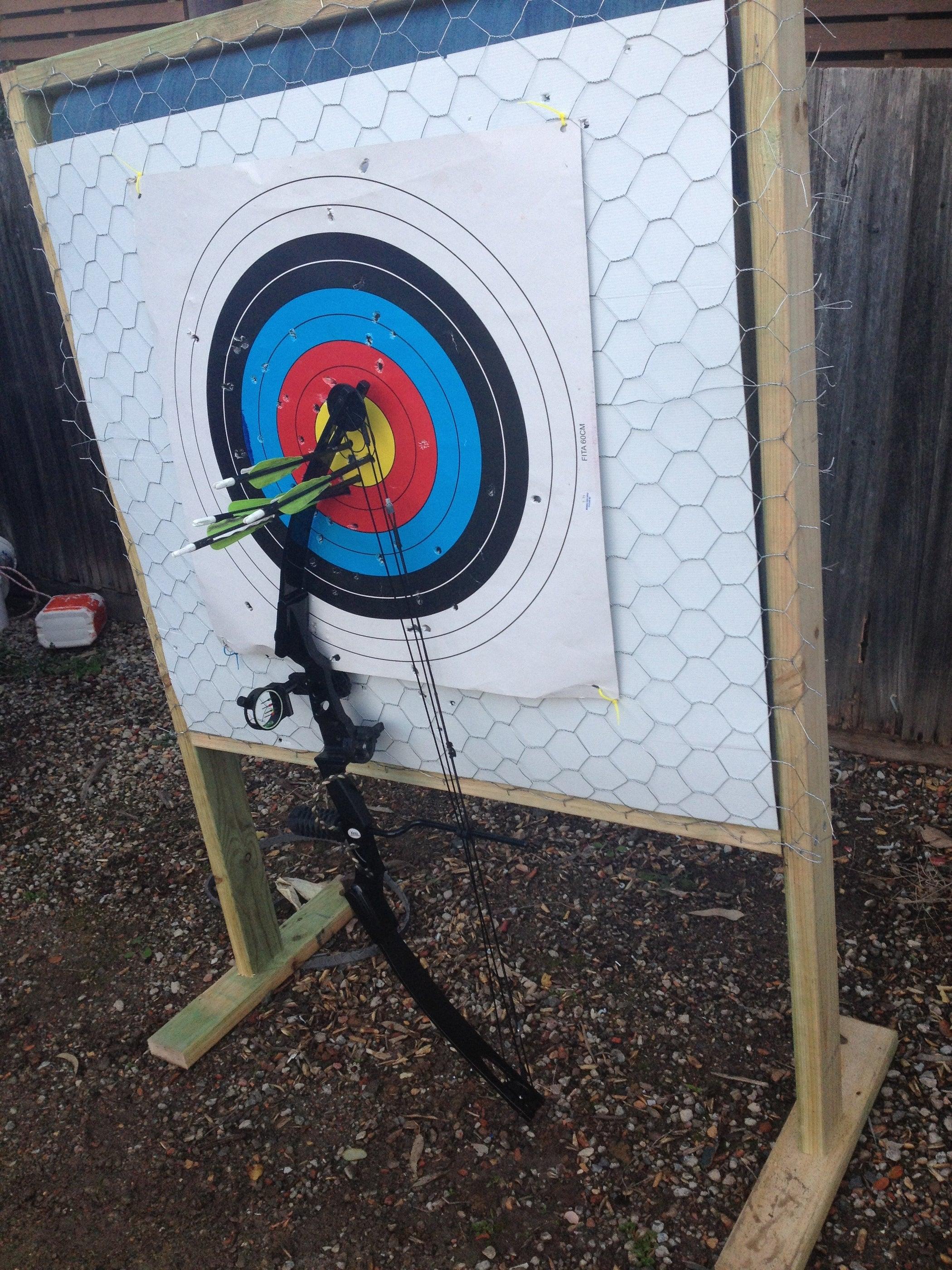 Homemade Archery Target