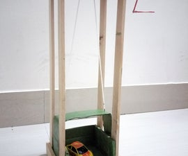 Simple Machine Lift for Kids to Play