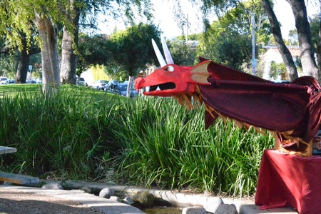 Giant Armature Dragon Puppet