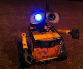 Wall-e Project - Push Toy Modified With an EZ-B