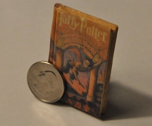 Make a Miniature Book (for Charms, Ornaments, Keychains, Etc.)