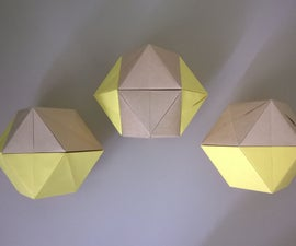 Rhombic Dodecahedron 3-Ways