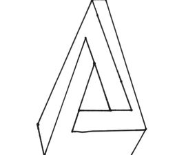 Pen Rose Triangle in Three Easy Steps