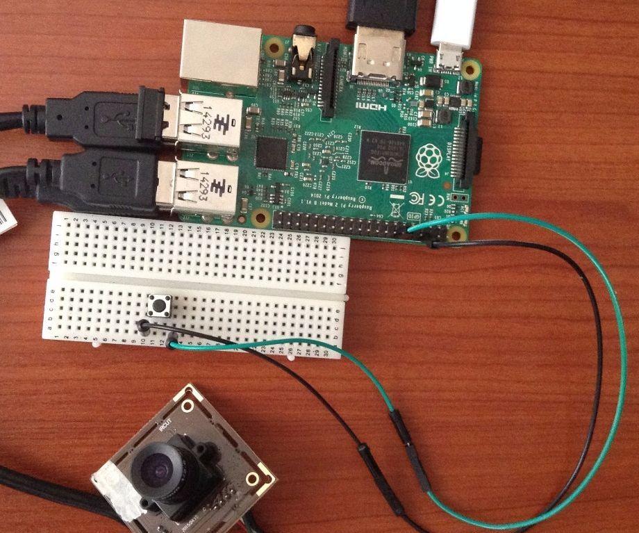 USB Webcam Camera for Raspberry Pi 3//2 B//B with LED Model K