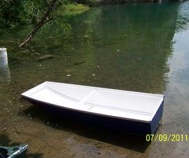 One sheet Jonboat