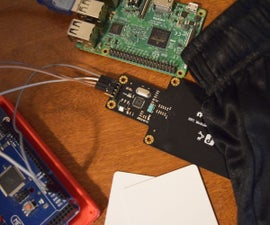 Raspberry Pi NFC Clothes Tracker