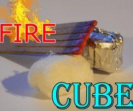 Fire Cube (Fire Starter)