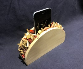 The Taco Phone Holder
