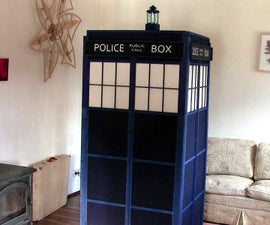 TARDIS From a Single 2x4