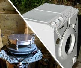 Centrifugal Casting Machine From a Washing Machine