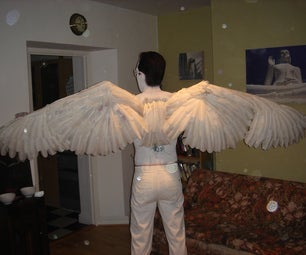 How to Make a Pair of Angel Wings