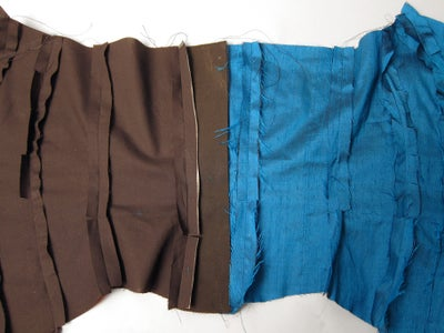 Sew the Outer Fabric to the Lining Fabric
