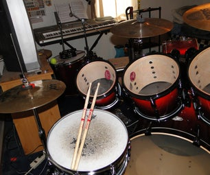 YES!!!!!!!!!!! (New Drumset for Christmas