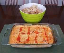 The Best Buffalo Chicken Party Dip