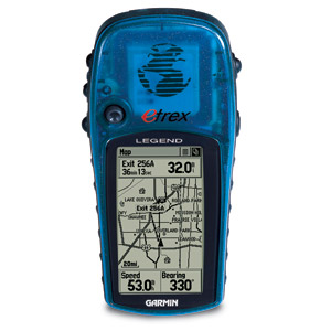 Picture of USE YOUR GARMIN E-TREX LEGEND GPS WITH GOOGLE EARTH.